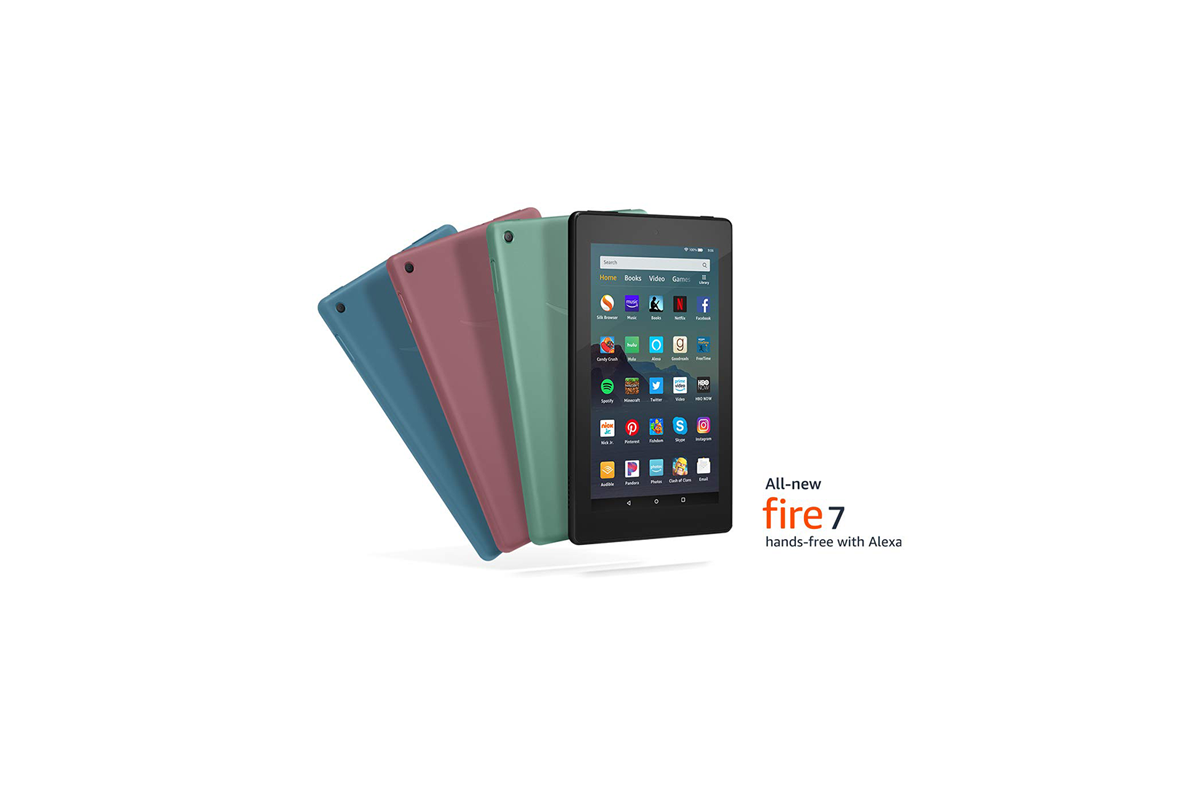 The new Amazon Fire 7 tablet comes with double the storage, a faster