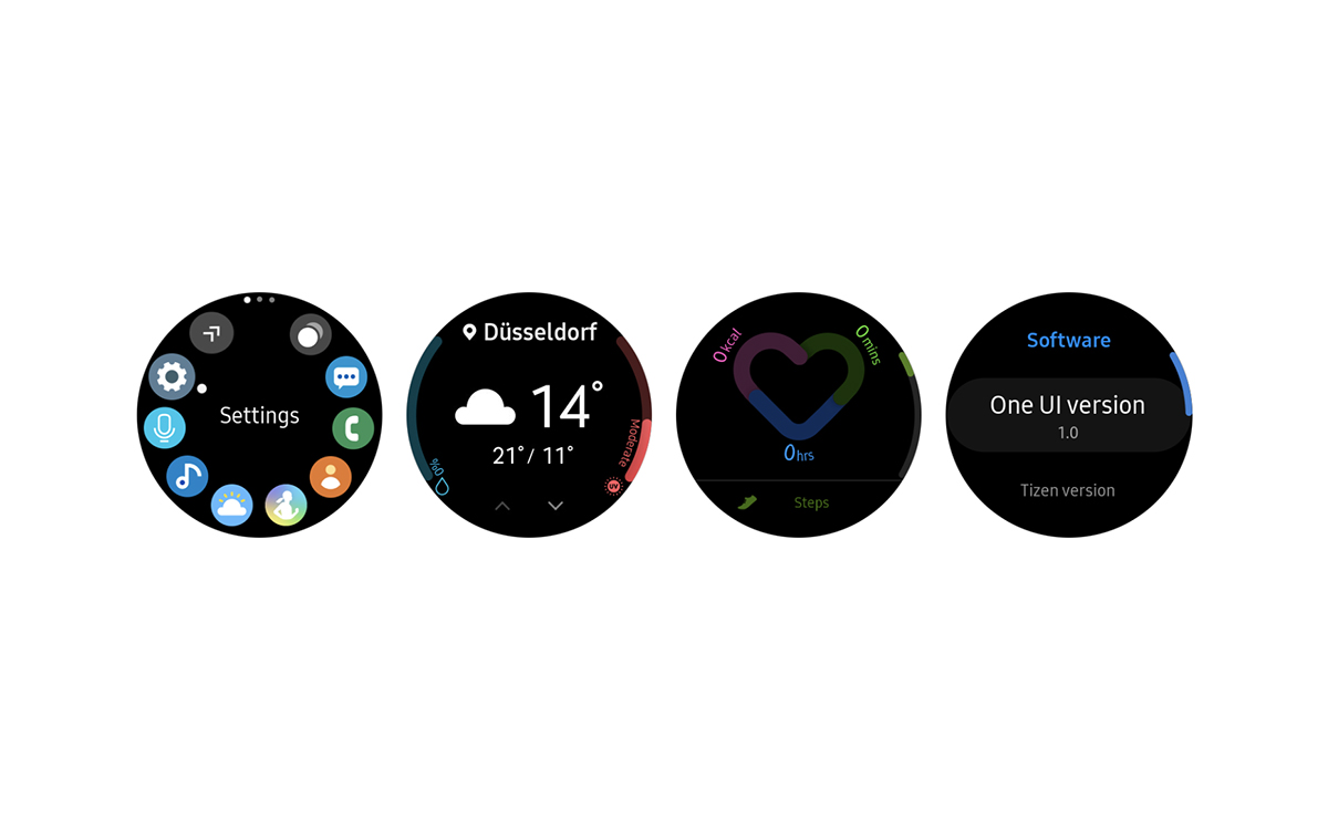Samsung rolls out One UI for the Galaxy Watch, Gear S3, and