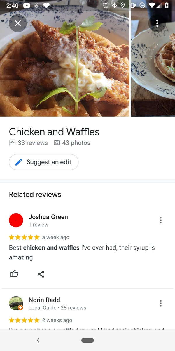 google maps favourite dish 3