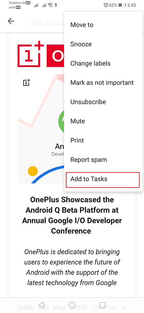 google tasks gmail android