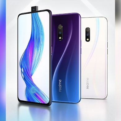 Realme X with a pop-up selfie camera, in-display fingerprint scanner, VOOC 3.0, Snapdragon 710 launched in China