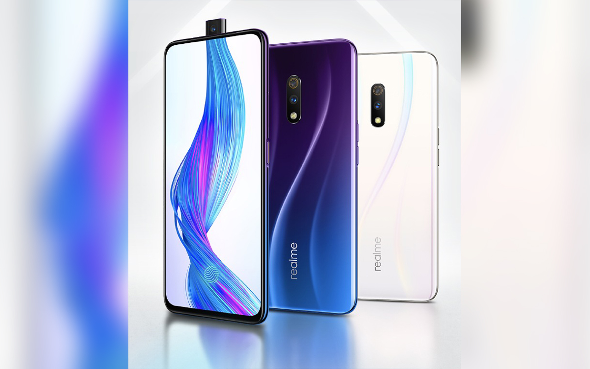Realme X announced with pop-up camera, in-display fingerprint, VOOC 3 0
