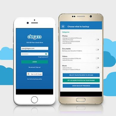 Land 1TB of Ultra-Secure Cloud Backup with Degoo Premium
