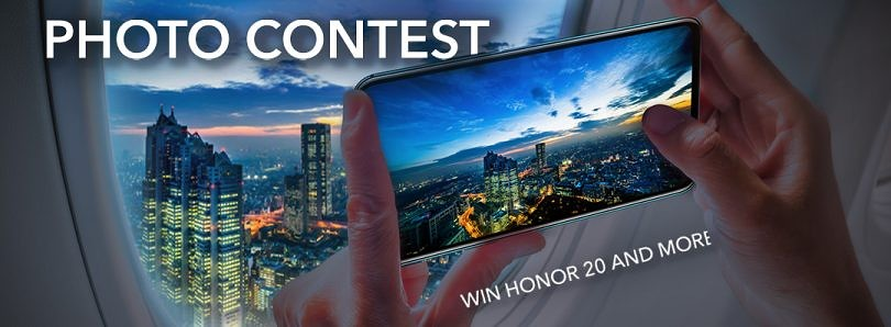 Honor #4CamerasEpicShots Contest -Submit Your Photos to Win an Honor 20