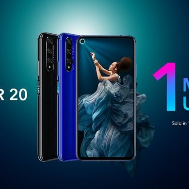 Honor 20 Has Global Availability and Record-Breaking Sales in China