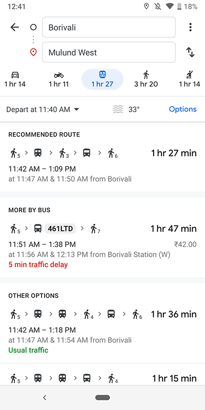 Xda-Developers | Google Maps gets new public transit