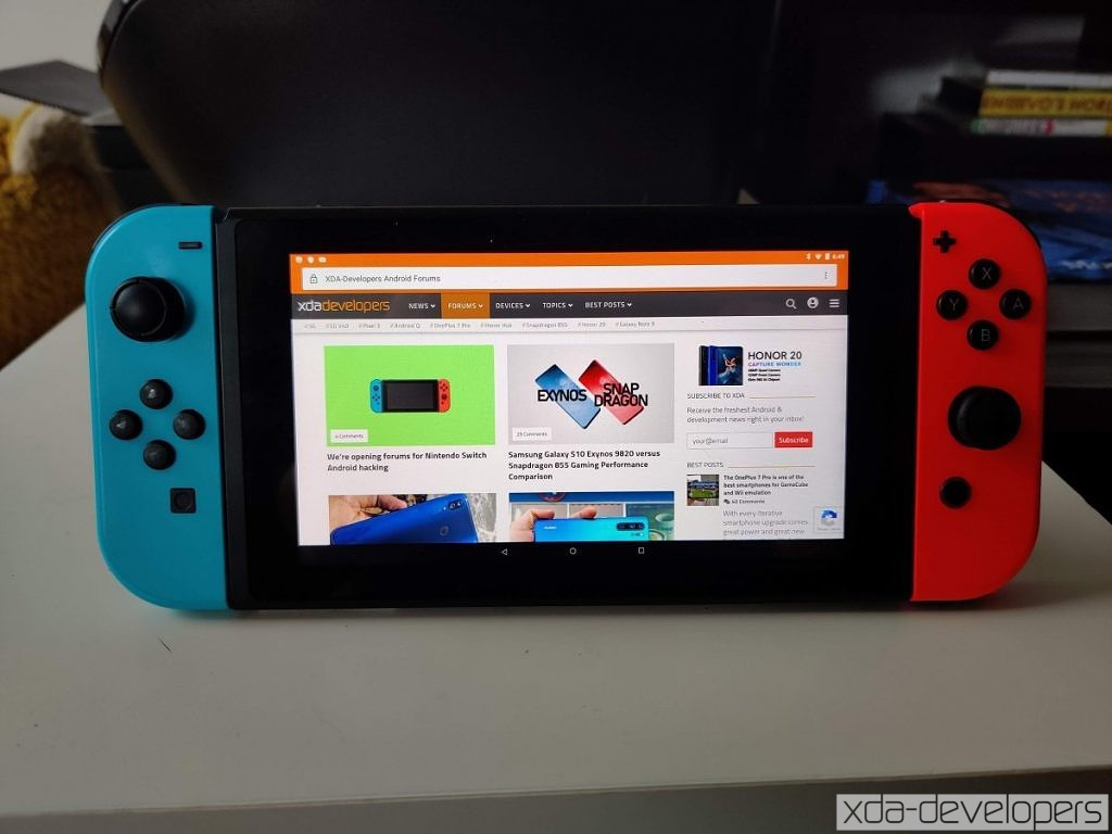 We've got Android on the Nintendo Switch: Here's what it can do