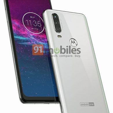 Motorola One Action renders reveal triple rear cameras and punch hole display