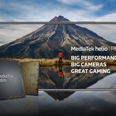 MediaTek unveils the Helio P65 chip with support for 48MP cameras, faster AI performance
