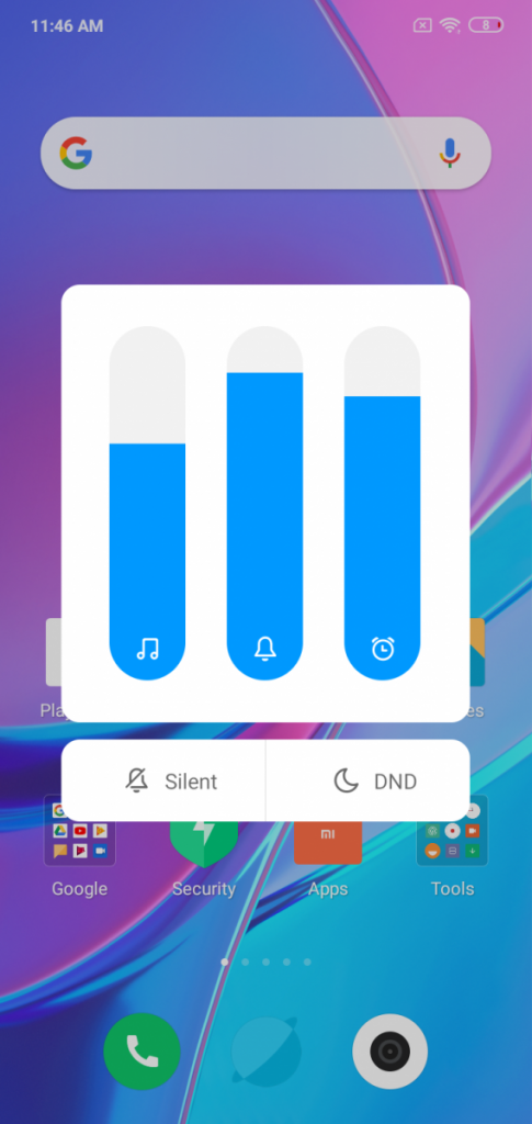 MIUI 10 on the Redmi Y3
