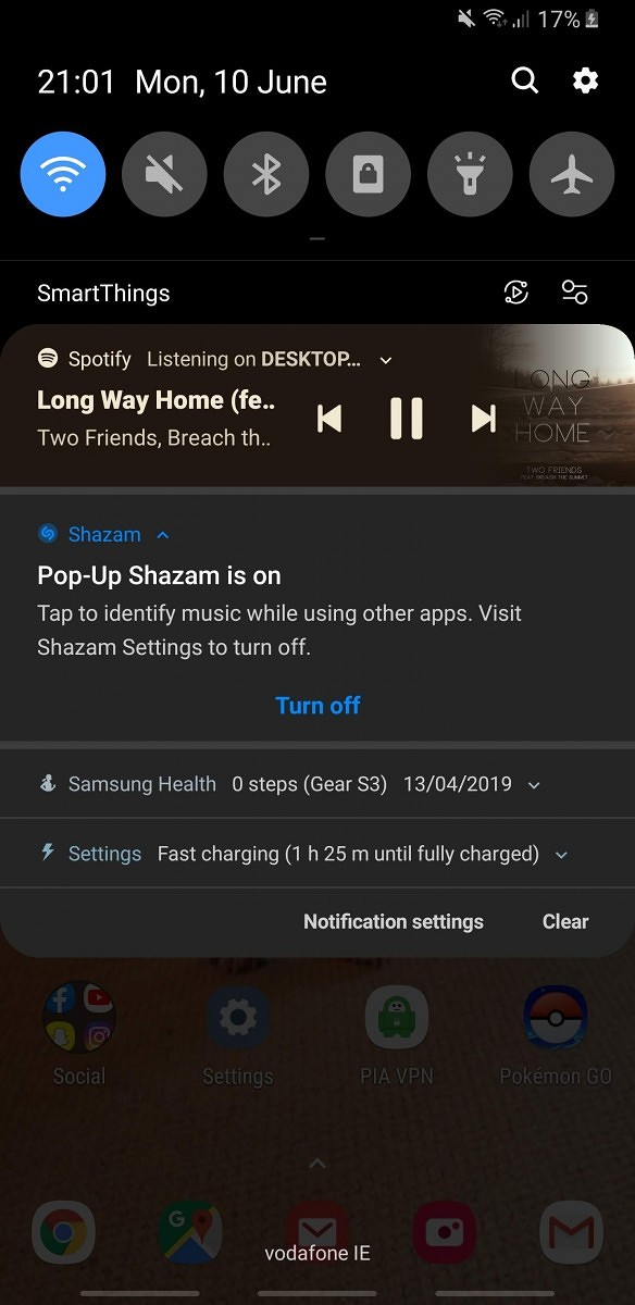 Shazam on Android can now recognize music playing internally on your