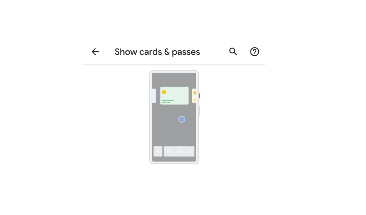 Android Q may let you switch cards from Google Pay in the
