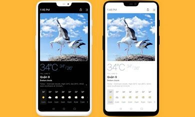 Today Weather Adds Auto Light/Dark Themes
