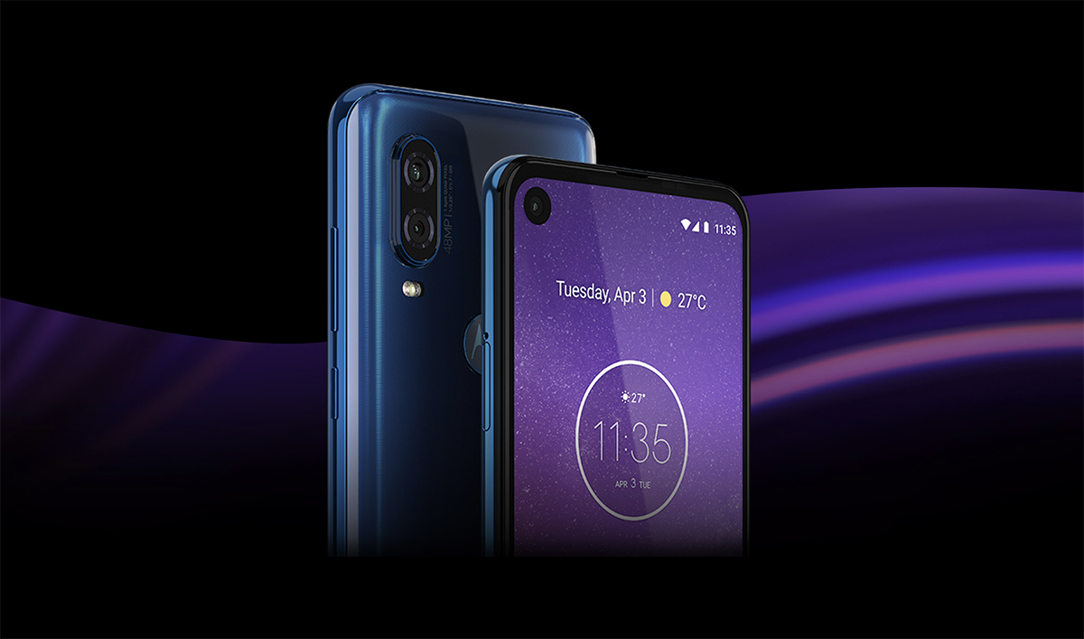 Motorola One Vision with 48MP camera, hole punch display