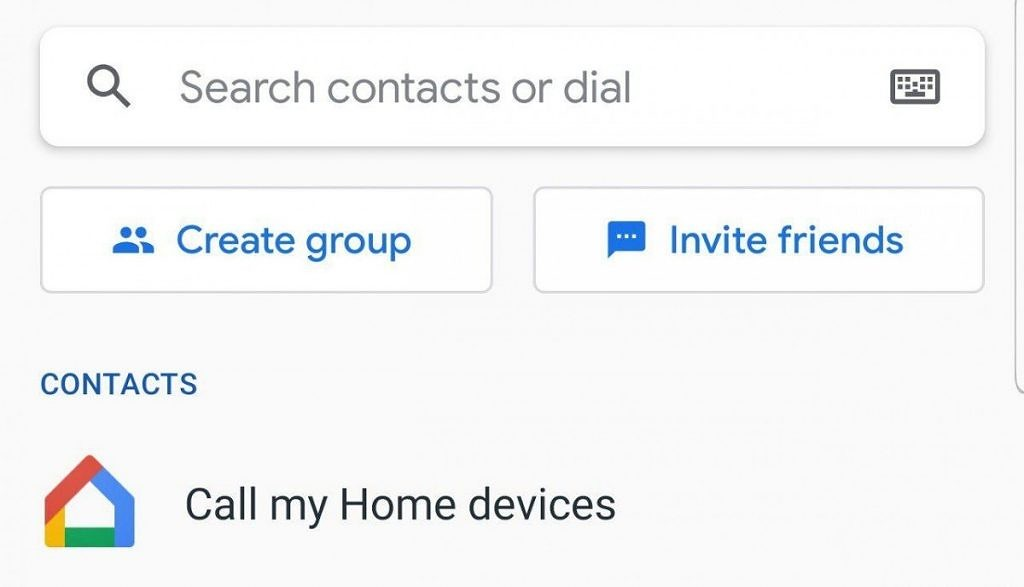 Call my Google Home devices with Google Duo