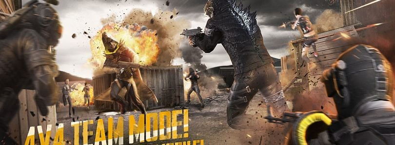 PUBG Mobile 0.13.0 update brings 4×4 Team Deathmatch mode, new Godzilla suit, 4 new zombies, more