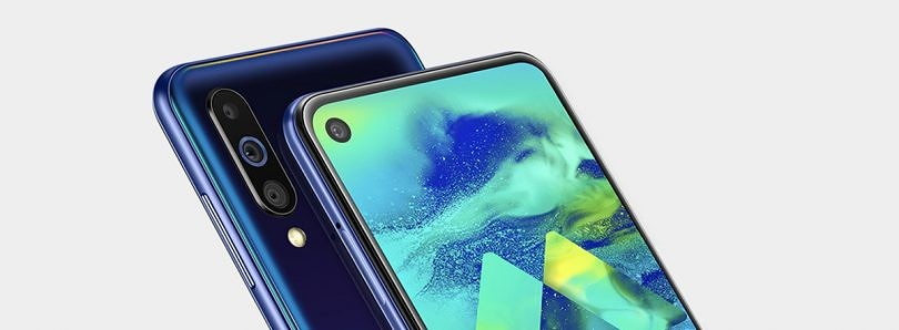 The Samsung Galaxy M40 with Infinity-O display, triple rear cameras, 15W fast charging launched in India for ₹19,990 (~$290)