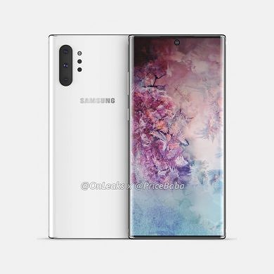 Samsung Galaxy Note 10+ leaked live images show off hole punch display