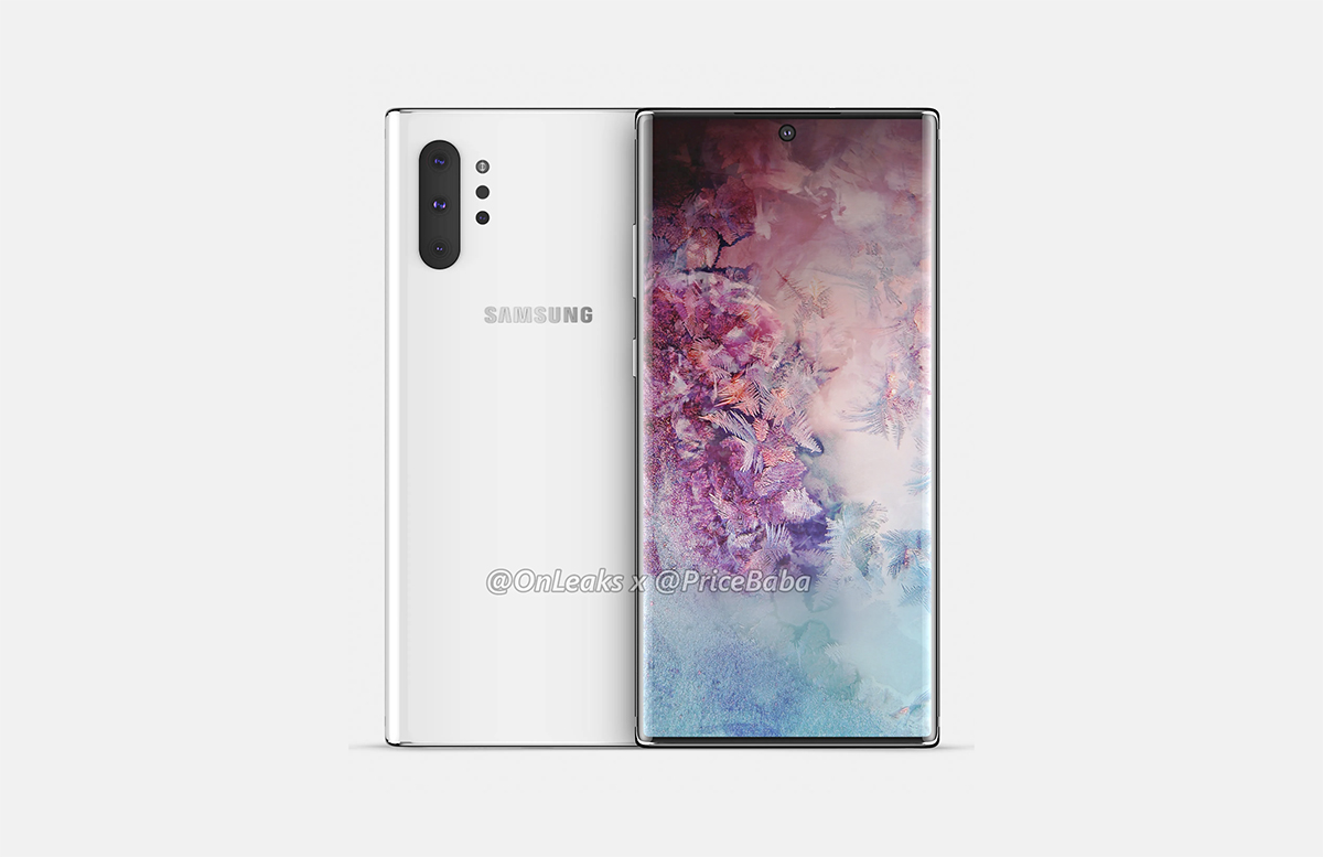 Samsung Galaxy Note 10 Leaked Live Images Show Off Hole