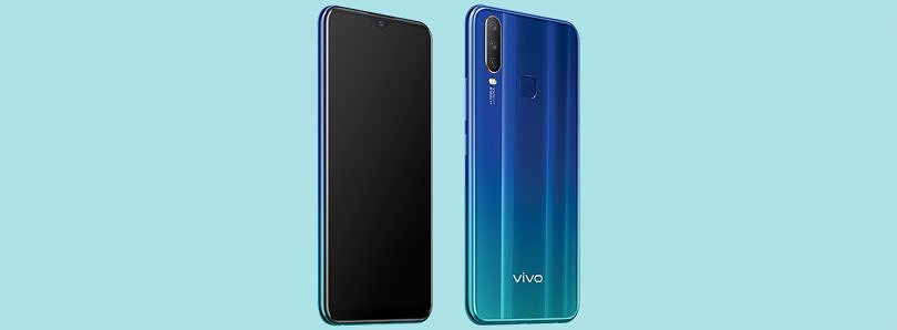The Vivo Y12 with triple rear cameras, 5000mAh battery, FunTouch OS launched in India for ₹12,490 ($180)