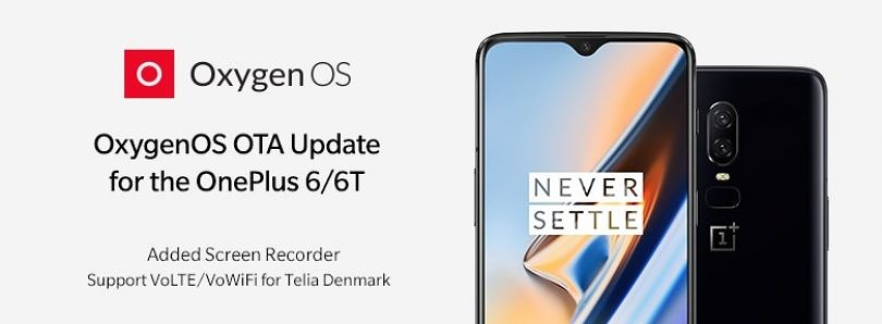 OxygenOS 9.0.7/9.0.15 for the OnePlus 6/6T brings a screen recorder and June patches