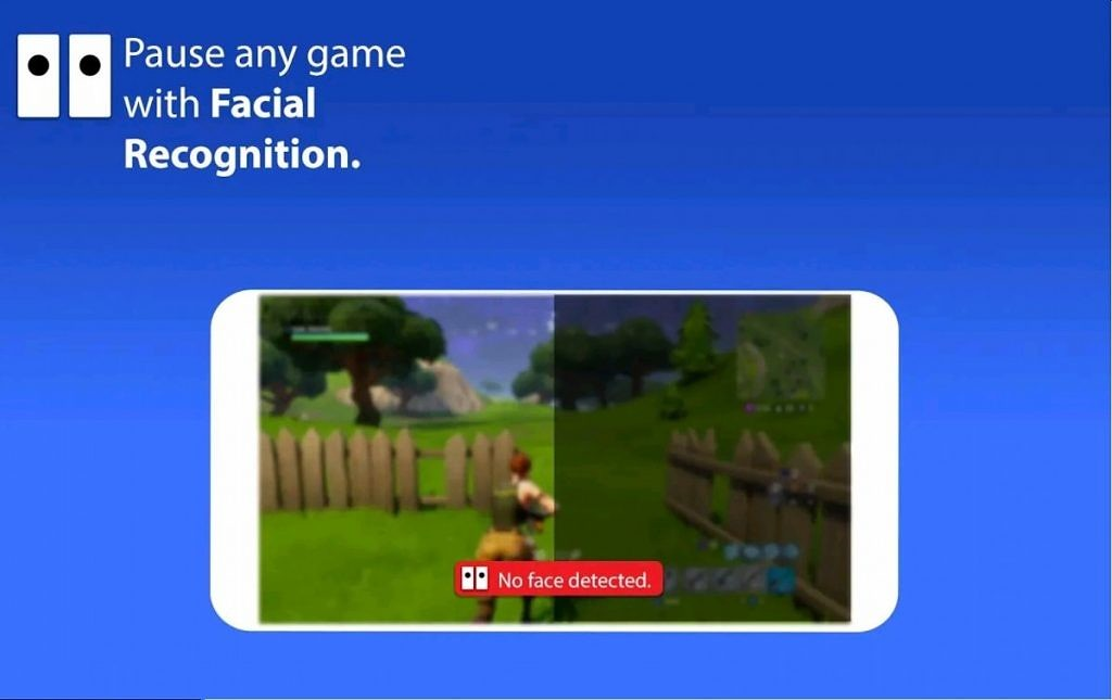 Face Pause uses face detection to pause games and videos when you're not looking
