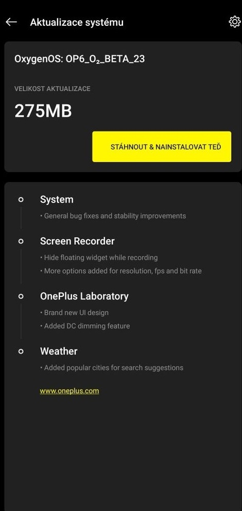 OxygenOS Open Beta 23 and 15 for the OnePlus 6 and OnePlus 6T