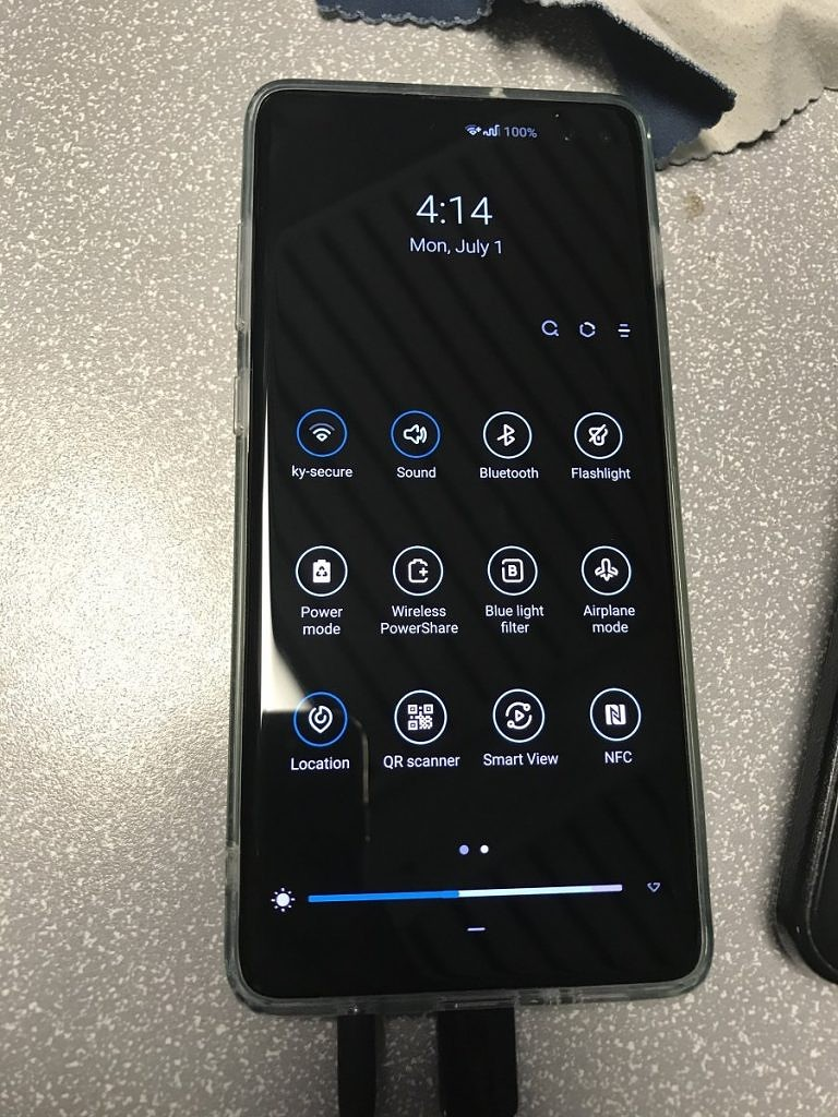 Snapdragon Samsung Galaxy S10+ Camera QR Code Scanner