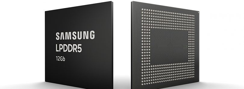 Samsung starts mass producing 12Gb LPDDR5 mobile DRAM chips for smartphones