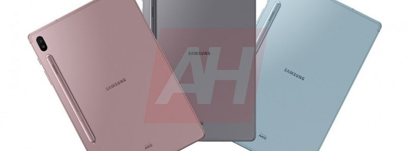 [Update: Press Renders] Photos reveal Samsung's next flagship tablet is the Galaxy Tab S6