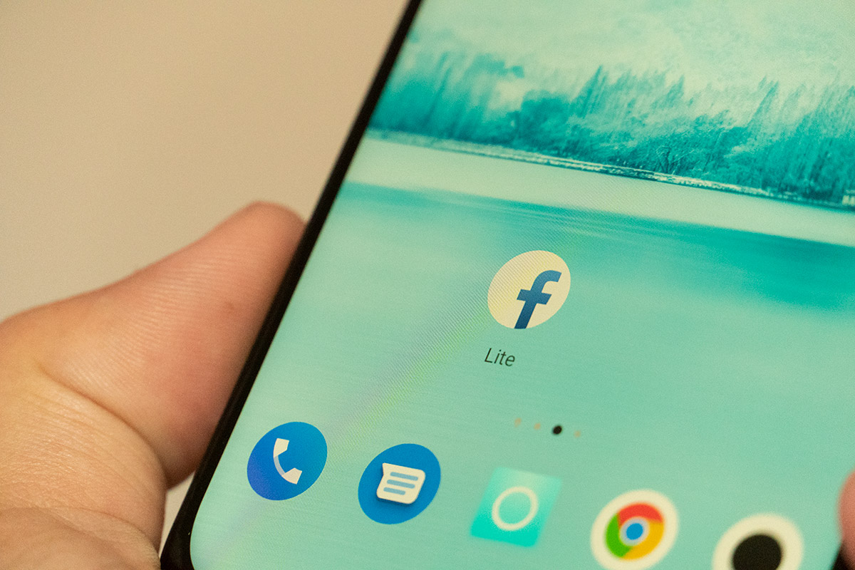 Facebook Lite Keeping up with friends is faster and easier than ever with the facebook lite app!. facebook lite