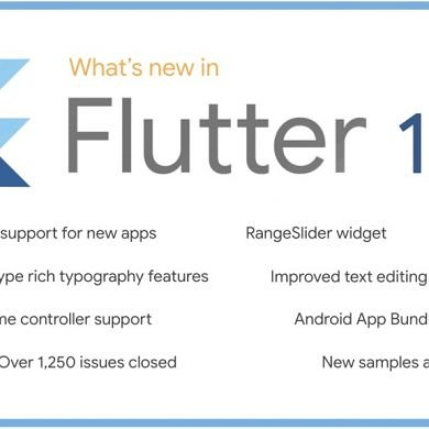 Flutter 1.7 brings AndroidX support for new Android apps, Android App Bundles, and more