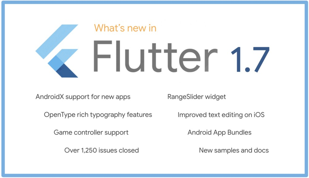 Flutter 1 7 brings AndroidX support for new Android apps