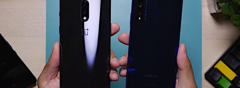 Honor 20 vs OnePlus 7: Battle of the Non-Pros