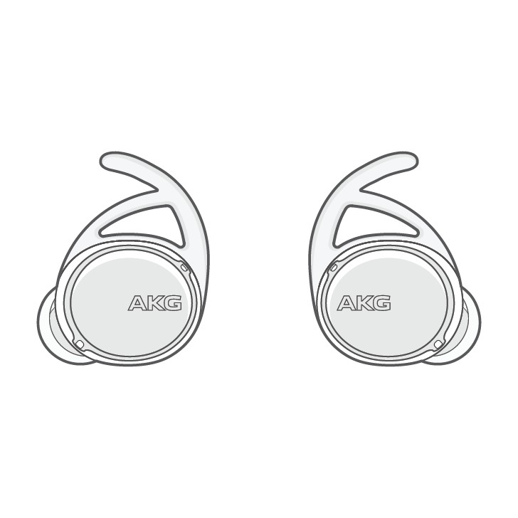 AKG earbuds smartthings