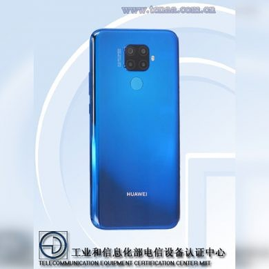 Huawei Nova 5i Pro press renders reveal Mate 20-like camera bump