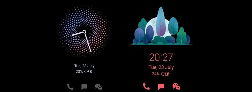 MIUI's Always-On Display update adds new clock designs to the ambient display of Xiaomi and Redmi phones