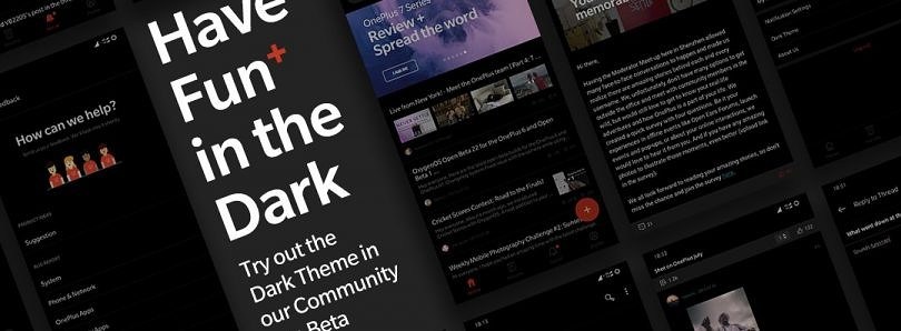 OnePlus adds a dark mode to its Community app in version 2.6.0