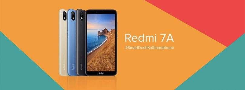 The Redmi 7A launches in India with better specifications but same price as the Redmi 6A