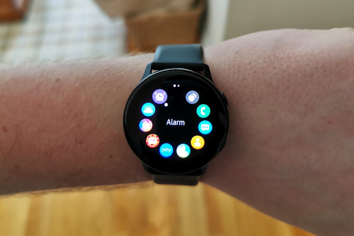 Hands-on: Tizen 4 on the Samsung Galaxy Watch Active after