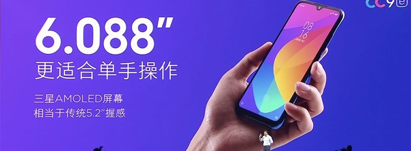 [Update 1: Possibly Mi A3] The Xiaomi Mi CC9e may launch internationally as an Android One smartphone