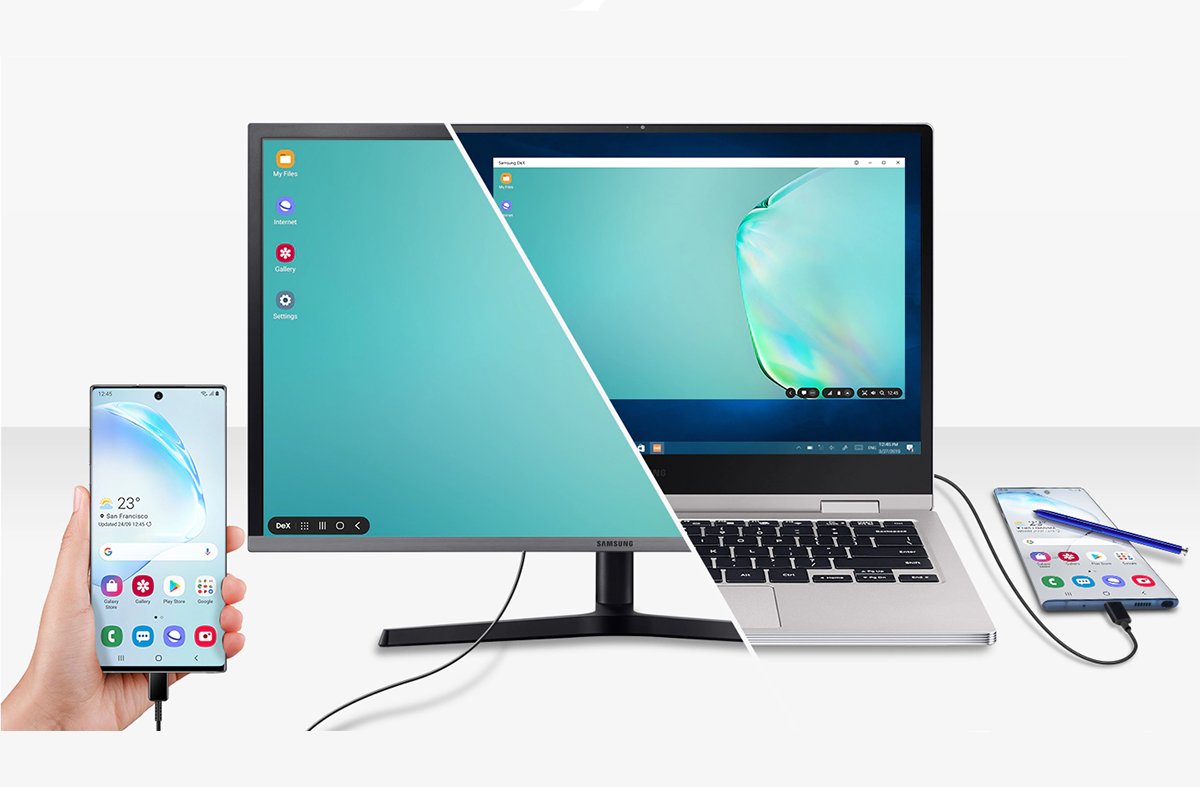 Galaxy Note 10 S New Samsung Dex Mode On Windows And Mac Goes Live