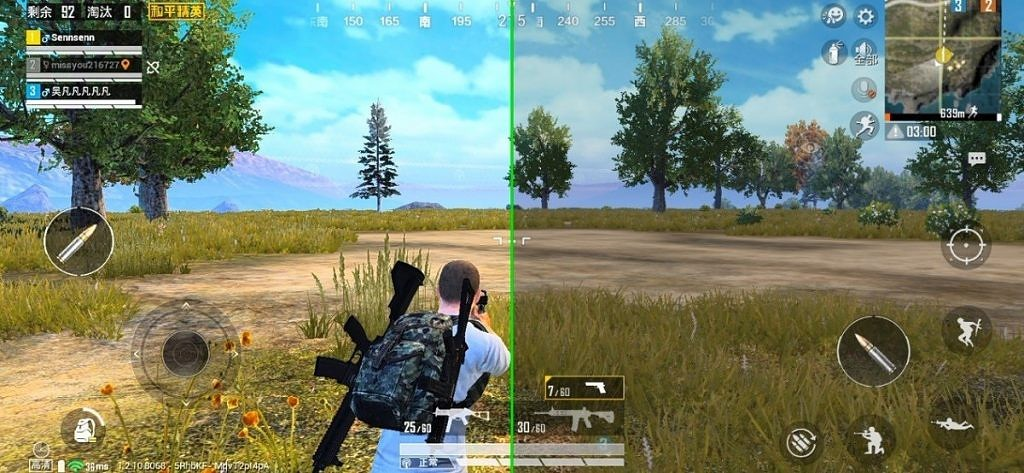 Oppo and Qualcomm's Game Color Plus on PUBG Mobile