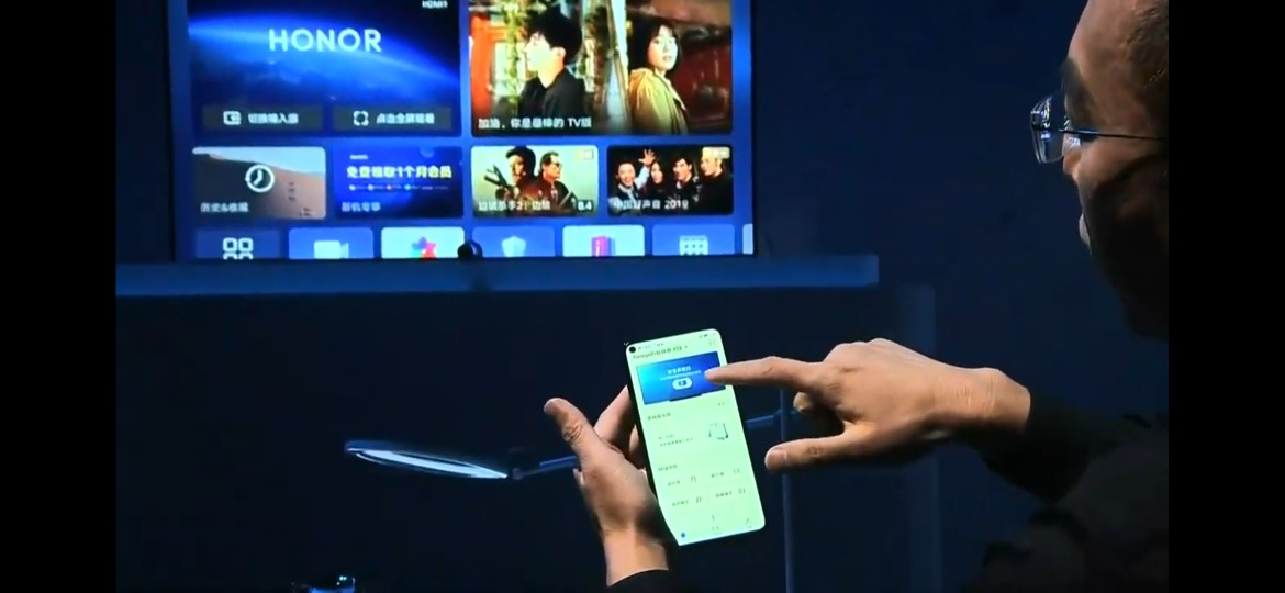 Honor Vision smart TV is the first device with Huawei's
