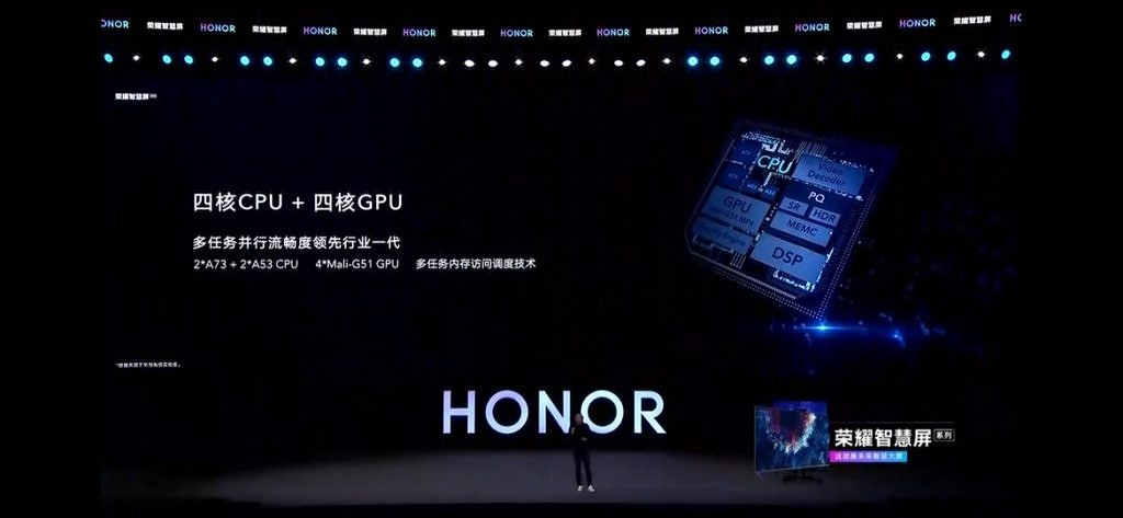 Honor Vision smart TV is the first device with Huawei's Harmony OS