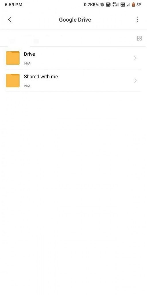 Xiaomi adds Google Drive integration to Mi File Manager