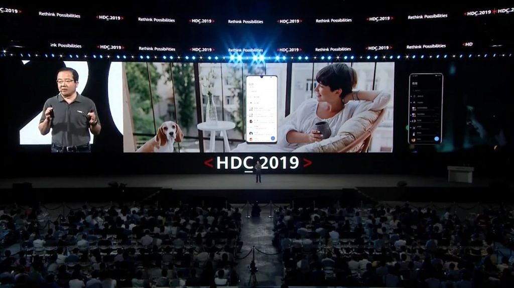 EMUI 10 based on Android Q, at the HDC 2019