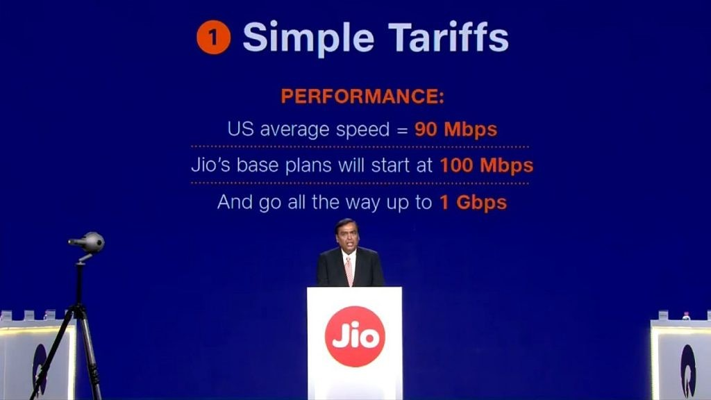 Xda-Developers | Reliance Jio Fiber to launch commercially in India