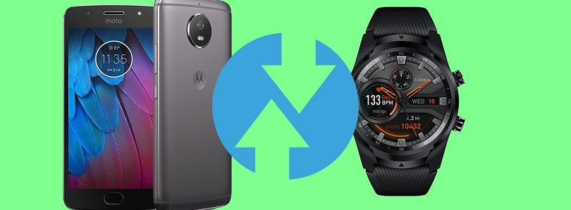 Motorola Moto G5S and TicWatch Pro 4G/LTE are now supported by TWRP