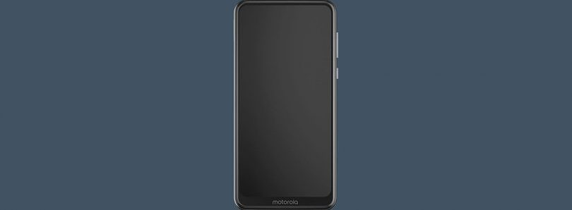 New Motorola phone with a notchless, fullscreen display leaks online